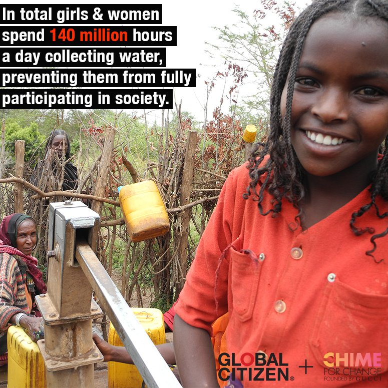 Call on World Leaders<br> To Support Girls & Women