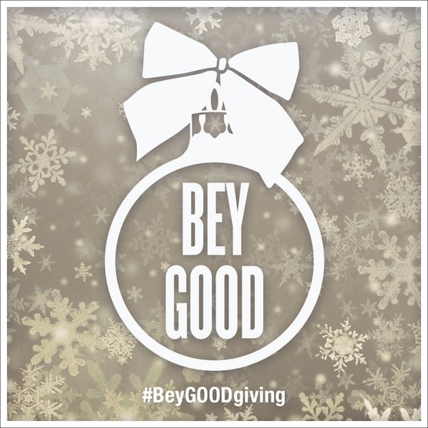#BeyGOOD Giving