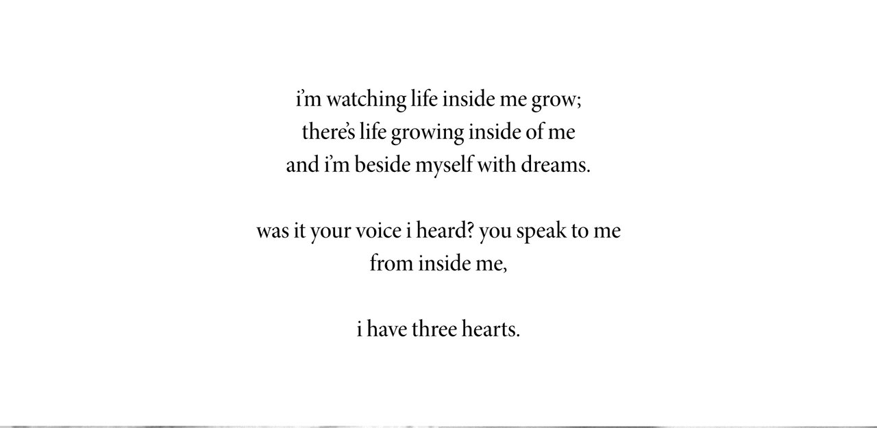 I HAVE THREE HEARTS