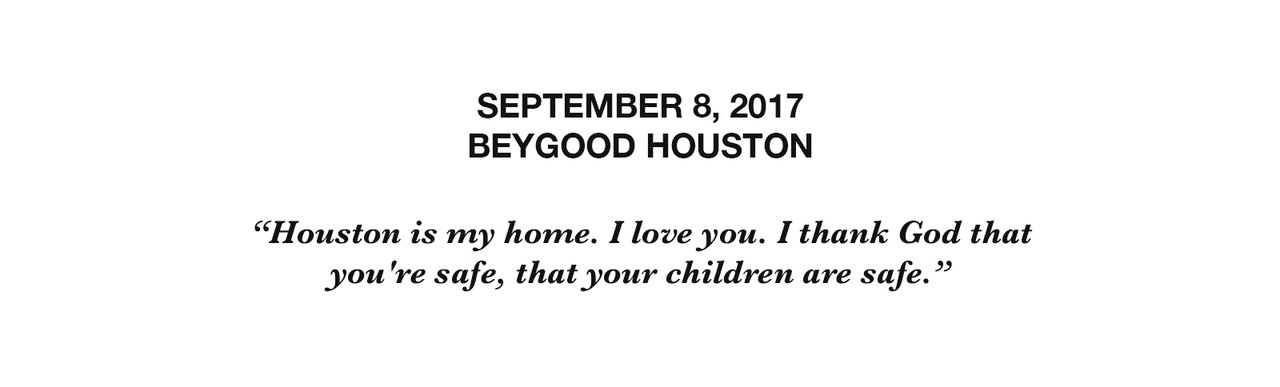 BEYGOOD HOUSTON 9.8.17