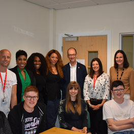 BEYGOOD/DOGOOD VISITS THE PRINCE'S TRUST